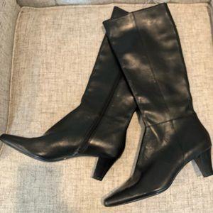 Boston Design Studio Leather Boots